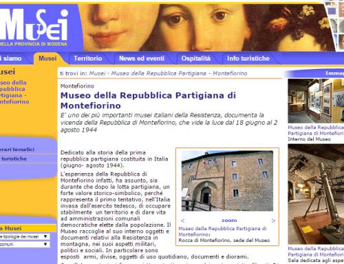 Il museo della Repubblica Partigiana di Montefiorino