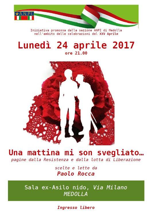 25 APRILE FESTA DELLA LIBERAZIONE MEDOLLA