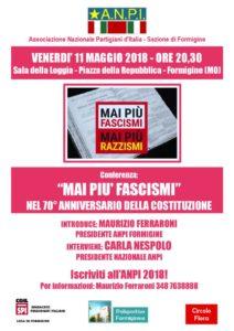 thumbnail of Locandina Mai più fascismi